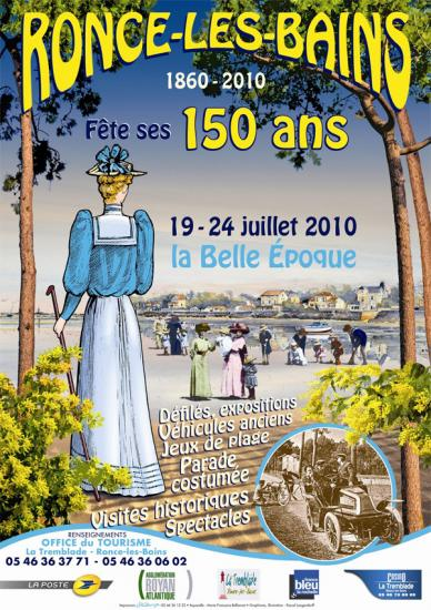Les 150 ans de Ronce Les Bains