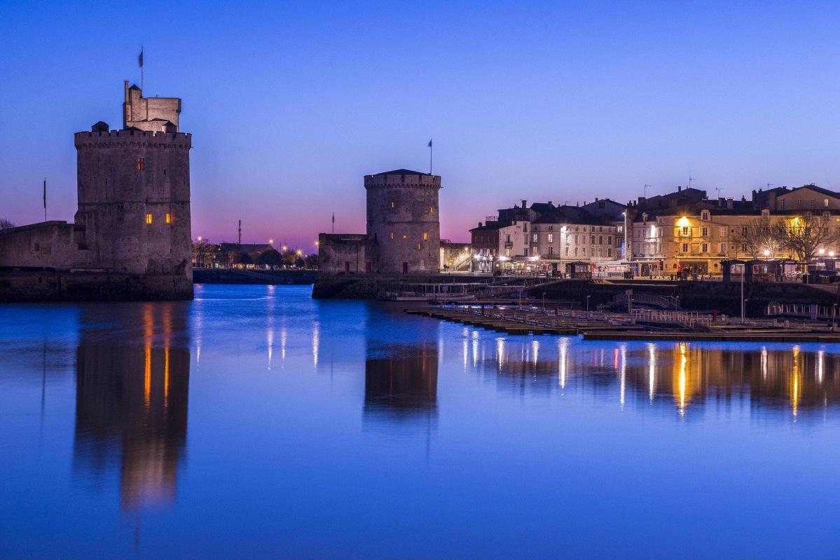 Les tours de La Rochelle - le vieux port